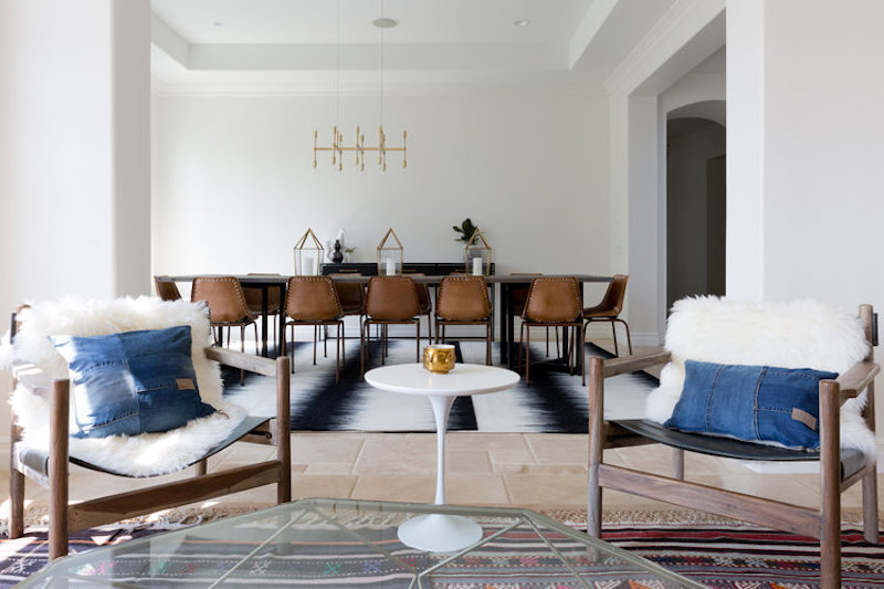 Modern Bohemian Dining Room Cococozy