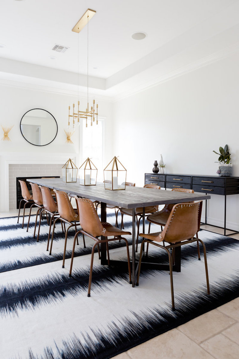 Modern Bohemian Dining Room | COCOCOZY