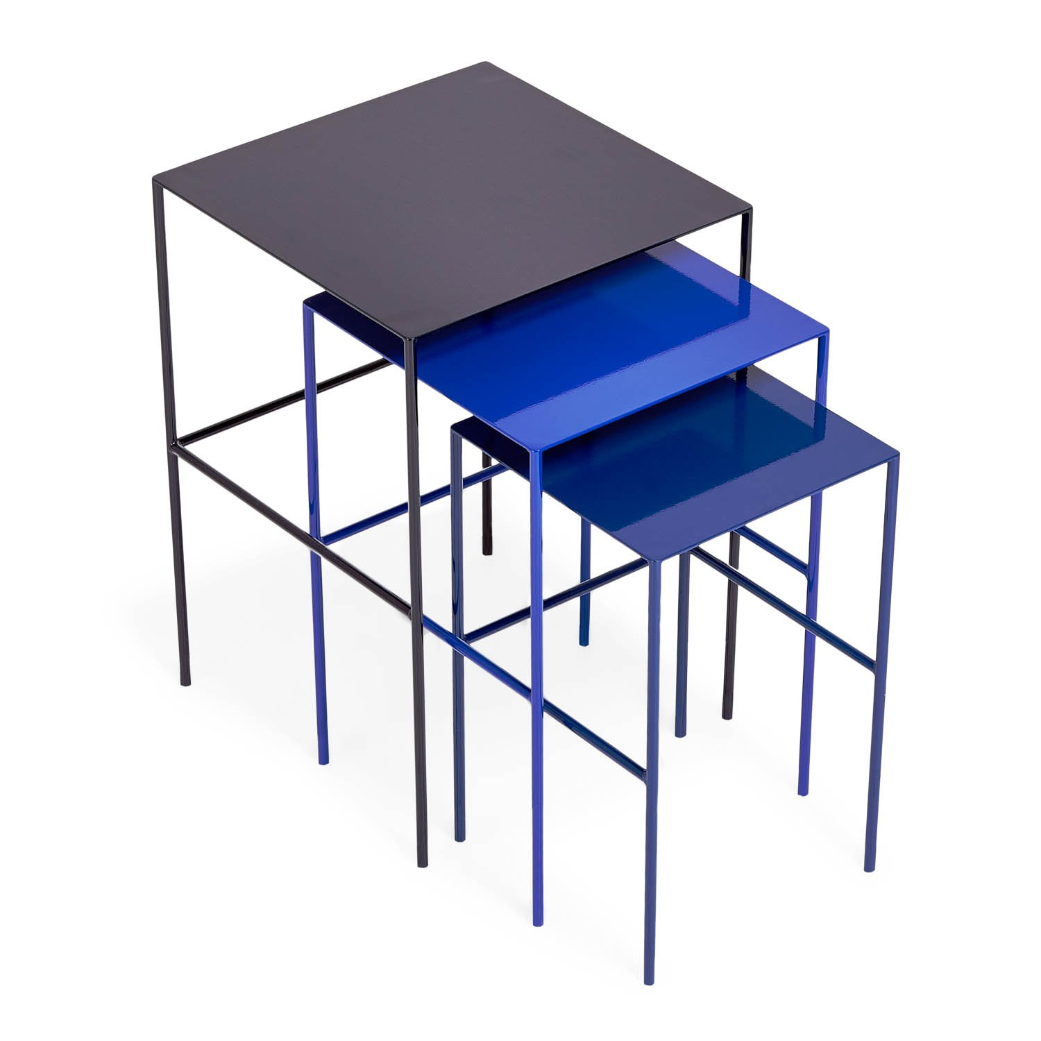 Metal nesting tables cococozy