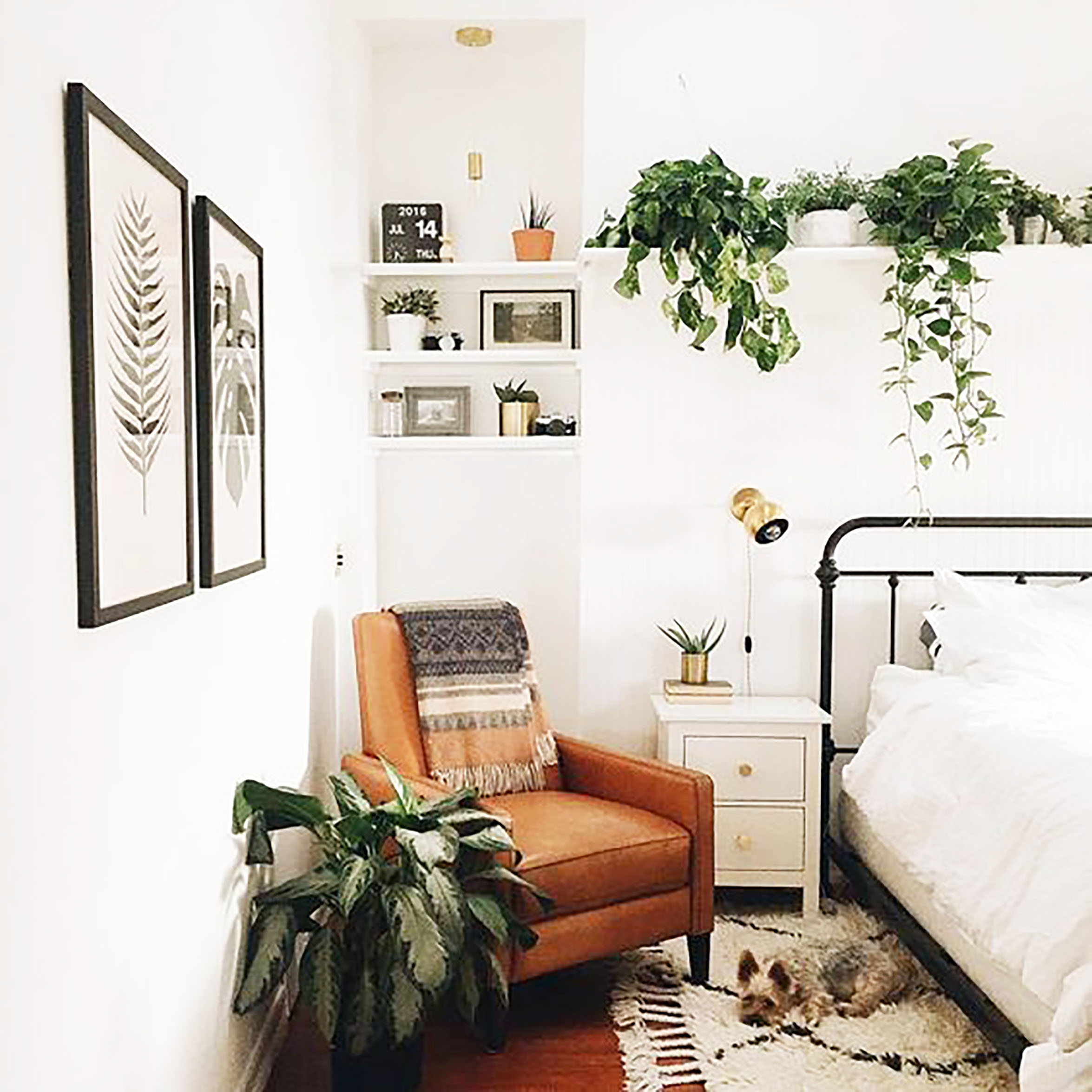 Plants-interior-design-bedroom-cococozy-instagram