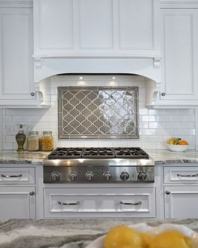 Perfect 17 Tempting Tile Backsplash Ideas for Behind the Stove | COCOCOZY HK71