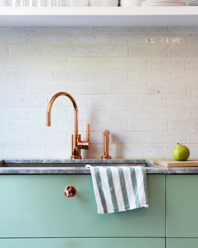 Copper Accents In The Kitchen Cococozy