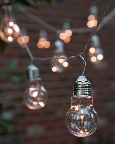 Charming Outdoor String Lights Cococozy