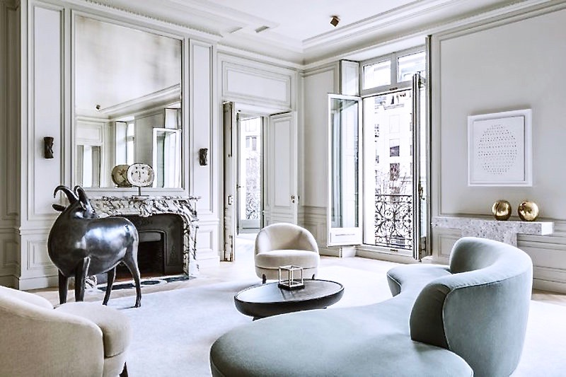 paris living room. share Paris Apartment Living  Joseph Dirand Style COCOCOZY