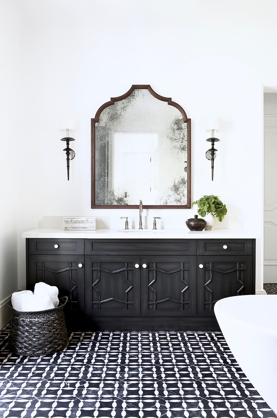 Master Bathroom Mirror Ideas Sconces