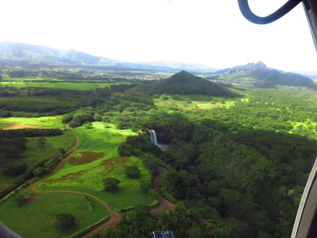 wailua falls kauai landscape waterfall