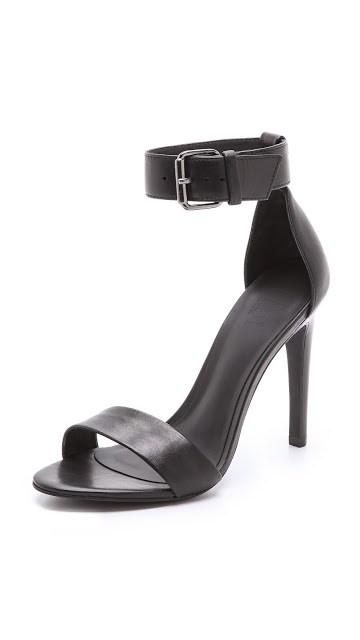 Black Tibi Amber Heel