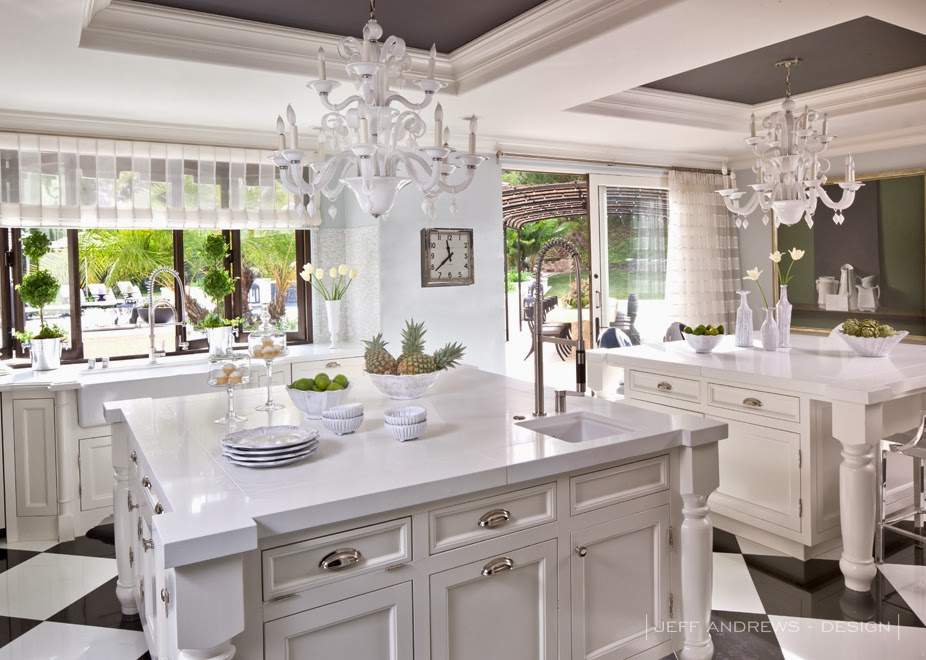Beau Kris Jenner (Kardashian Mom) Kitchen (above)