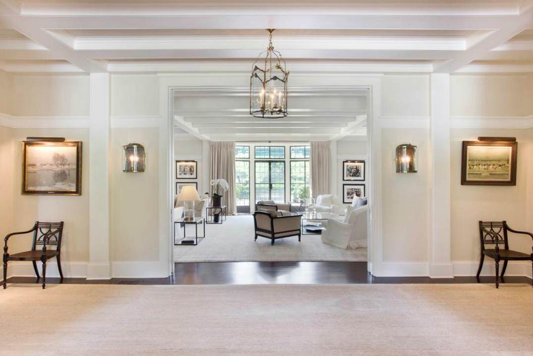living room entryway see this house the inside amp out of a 49 million hamptons 10819