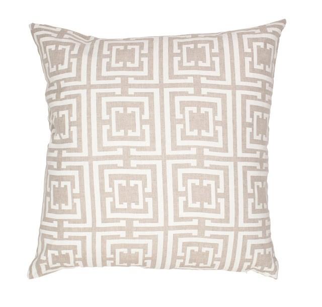 COCOCOZY Logo Natural Linen Pillow Cover