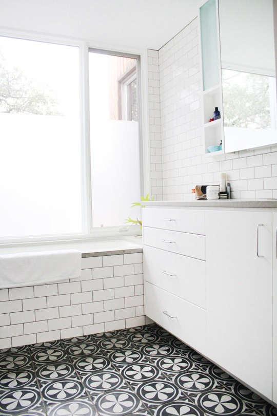 This Or That Mosaic Tile Bathroom Floors Cococozy