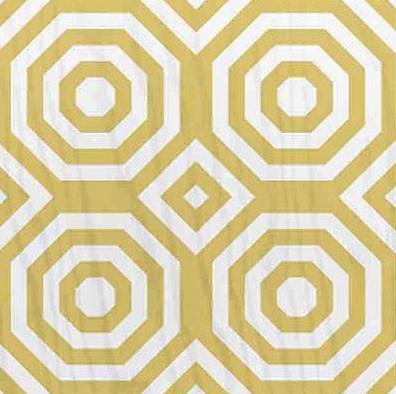 yellow mirth studio painted wood floor tile