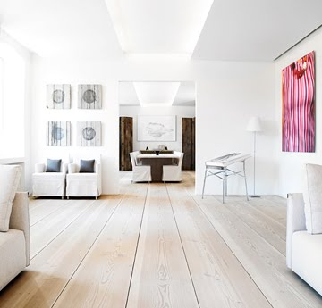 the super wide super light trend time in a living and dining room above and below