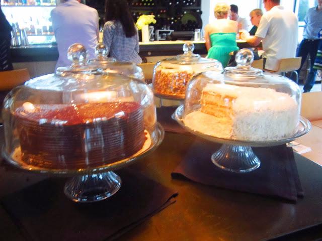 cakes at Bocado