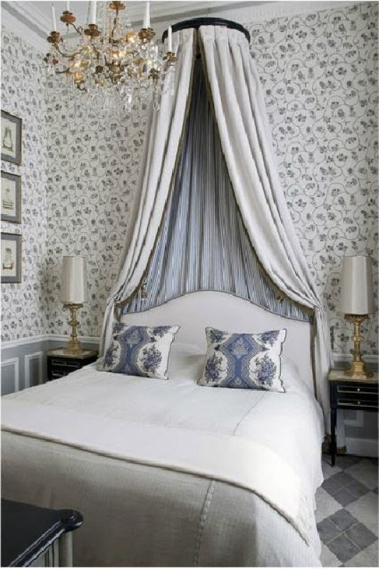 Classic French bedroom by Jean Louis Deniot