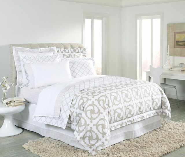 COCOCOZY bedding bed bedroom linens sheets duvet euro sham pillow taupe tan home house apartment design decor modern