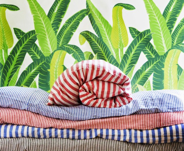 hedgehouse throw beds stripes
