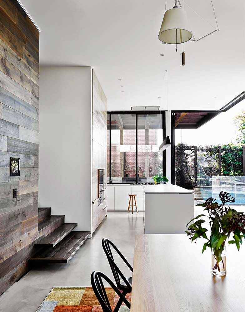 Decorating Small Open Floor Plan Living Room And Kitchen: MODERN OPEN FLOOR PLAN MIXING SURFACES