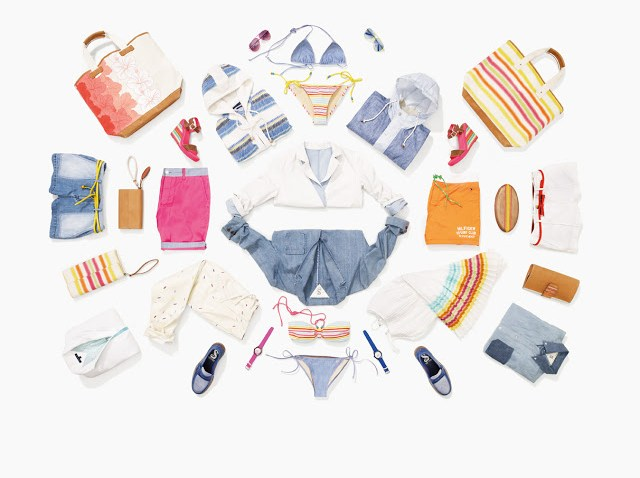 Tommy Hilfiger Surf Shack Collection clothing beachwear 2013 cococozy fashion style