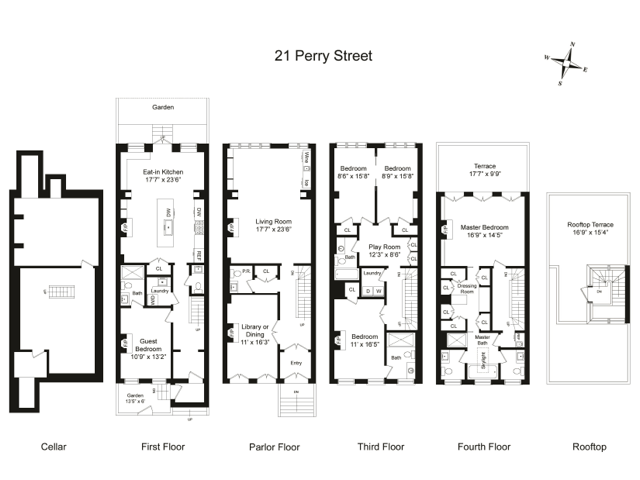 DESIGNER $13.9 MILLION DOLLAR NYC TOWNHOUSE