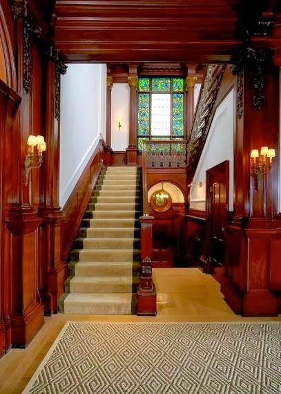Old Mansion Foyer : Multimillion dollar historic san francisco mansion see