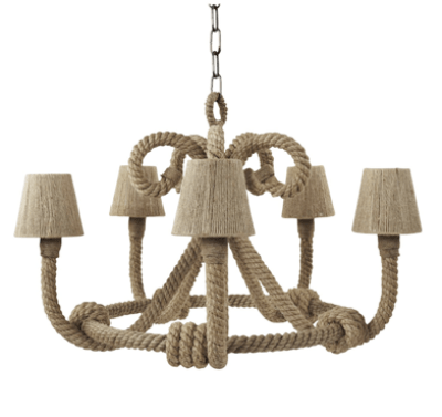 rope chandelier