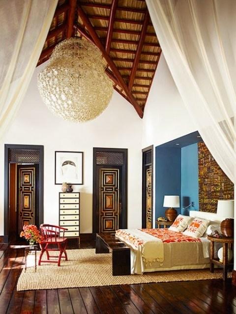 Bedroom in a home by Juan Montoya