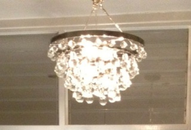 lightbud chandelier in COCOCOZY HQ