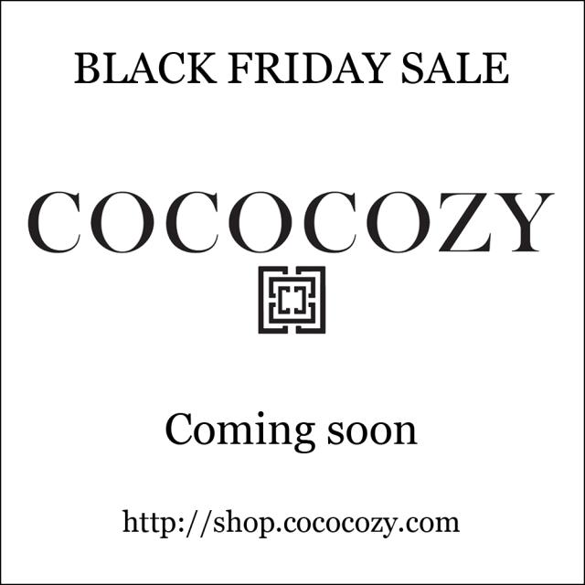 COCOCOZY Black Friday sale
