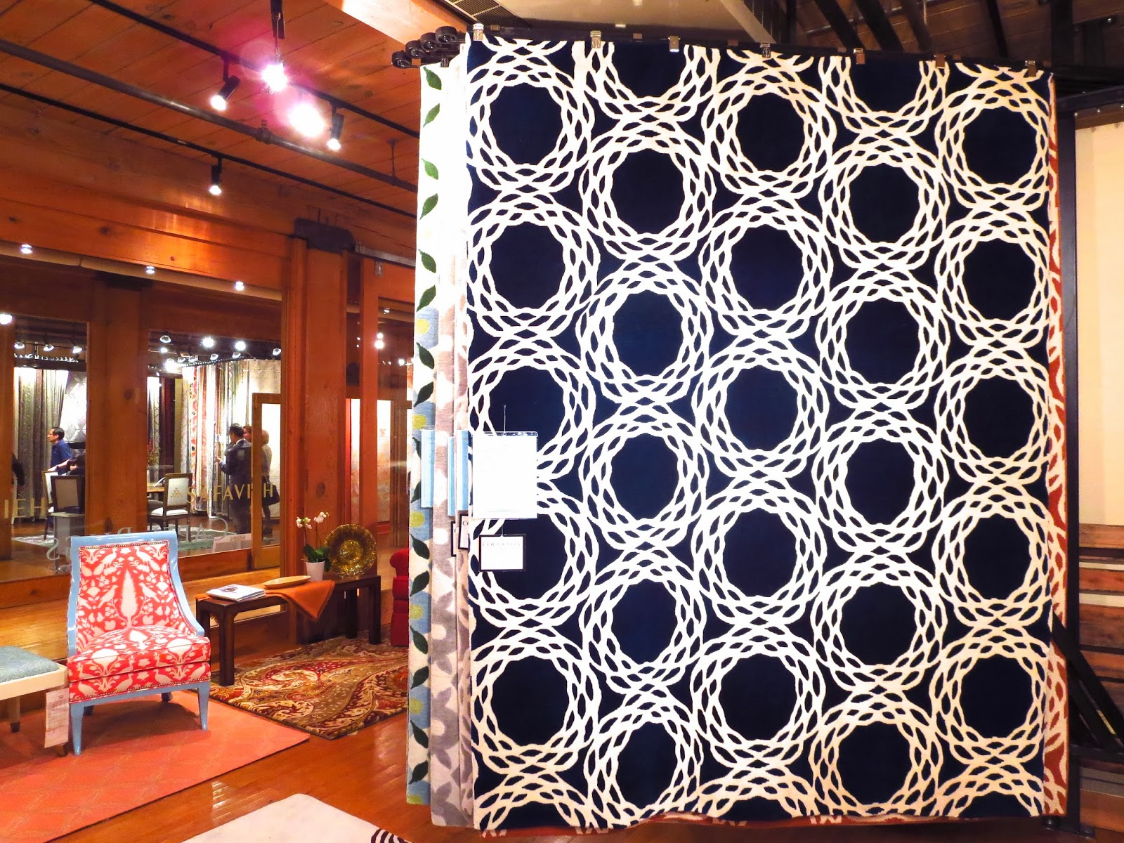 COCOCOZY Rug Display At Capel Rugs Showroom In Market Square High Point North