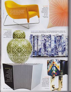 COCOCOZY jar featured in New York Spaces Magazine