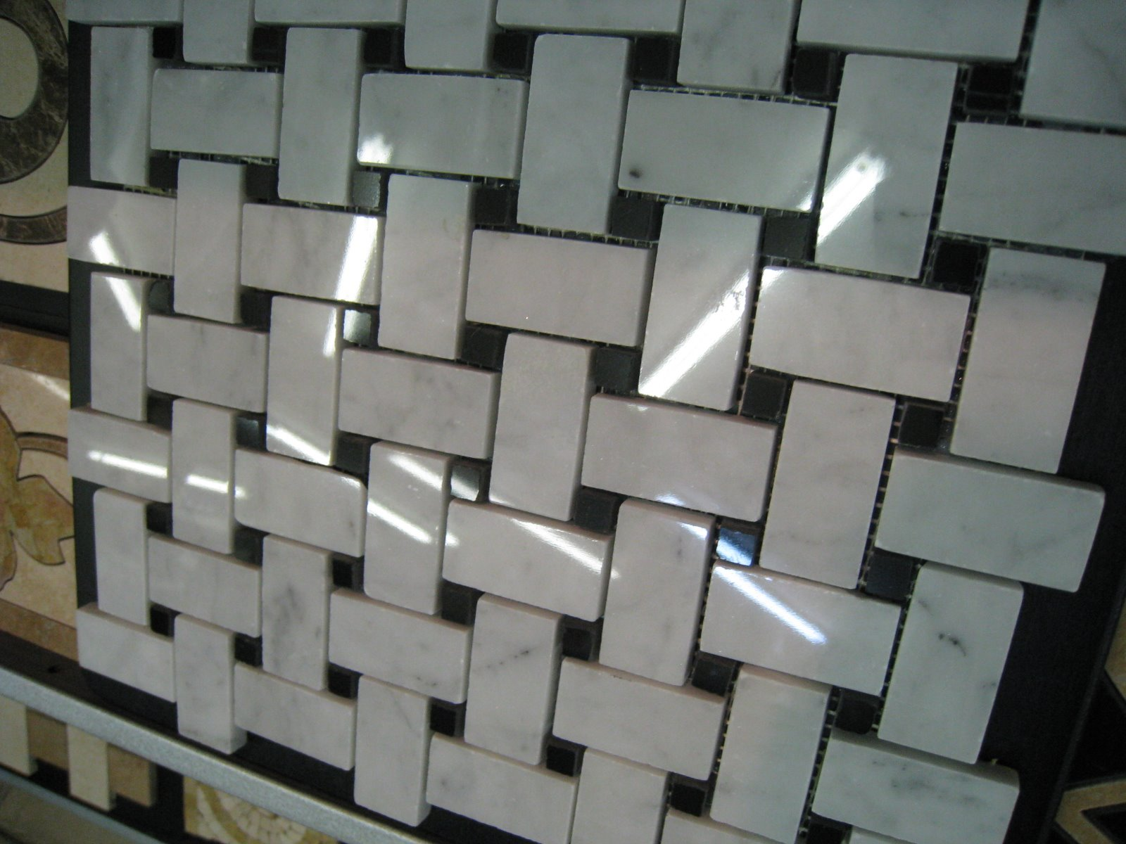 Tile file marble mosaic the devil is in the detail for Carrara marble per square foot