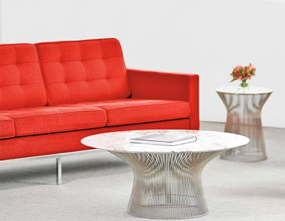 Siliver Platner Coffee Table from Hive