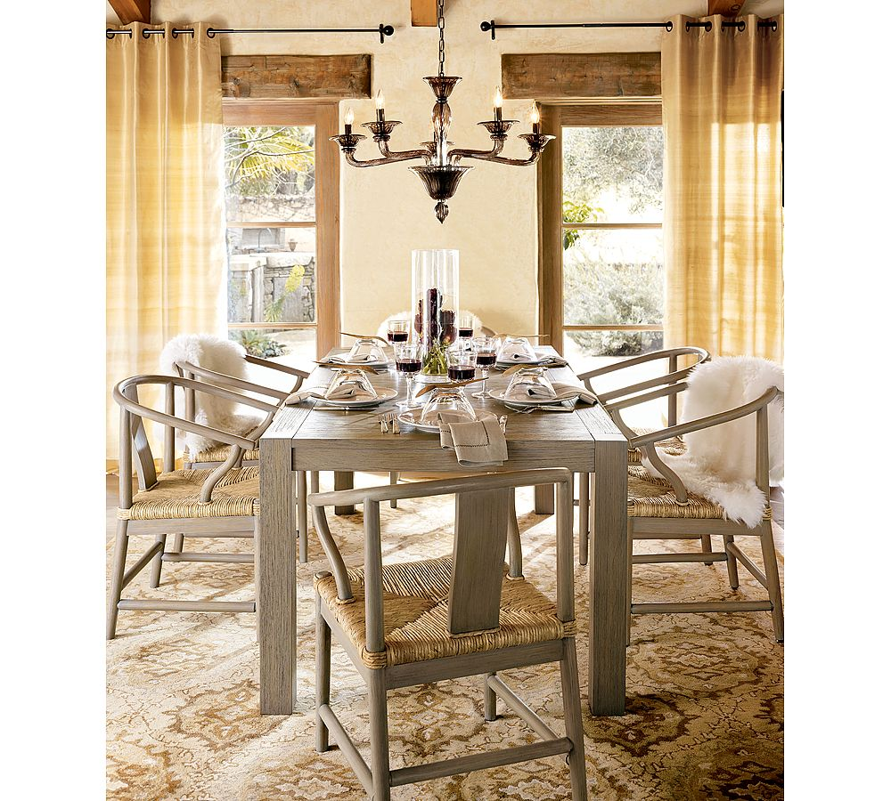 Pottery Barn Dining Room Lamp: DESIGN ON SALE DAILY: A GLEAMING GLASS CHANDELIER!