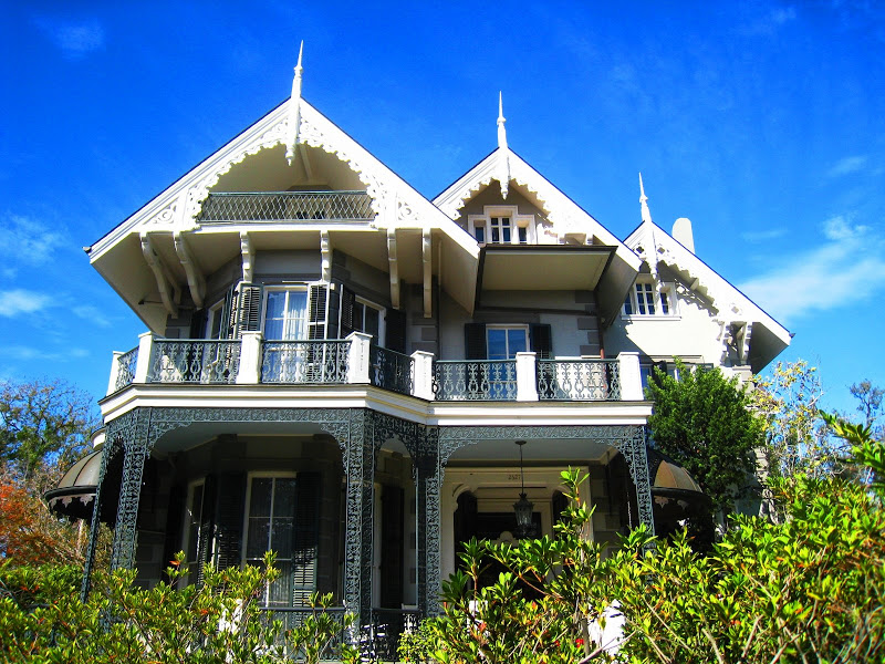 The Swiss Chalet House in the Garden District of New Orleans, Louisiana