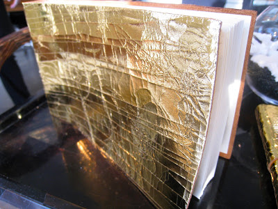 Gold photo album from Persimmon