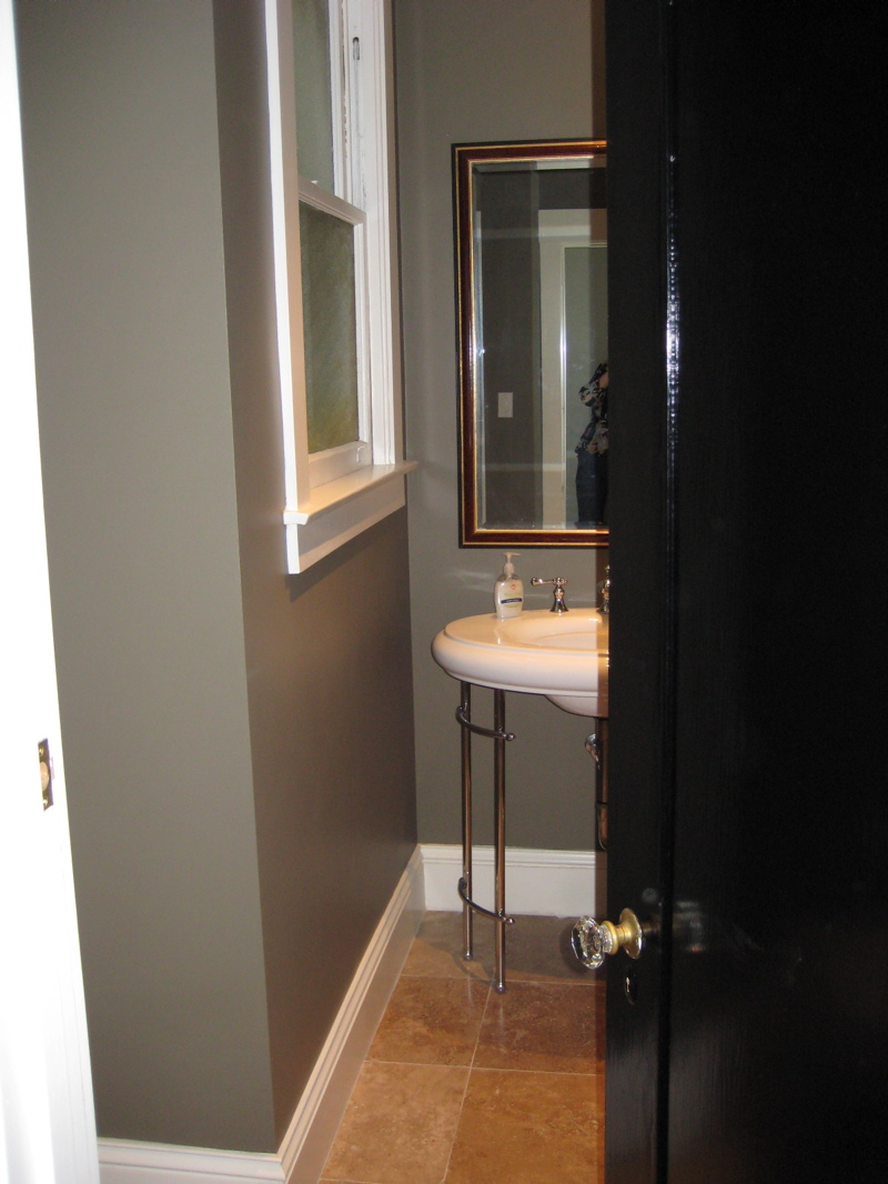 Before Amp After A Positively Perfect Powder Room Makeover