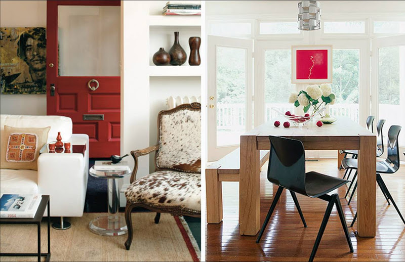 A Little Red Goes A Long Way In Home Decor Skillfully