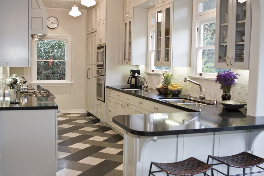 Kitchen Week An Idaho Reader Inspired To Remodel By A Designer Plaid Floor Cococozy
