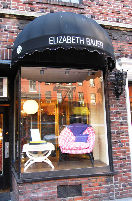 Exterior of the Elizabeth Bauer store in New York City