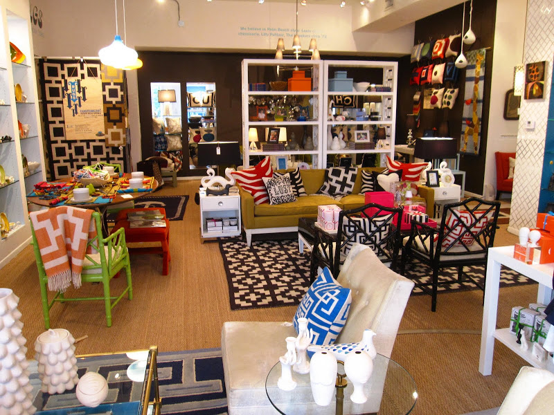 Inside the Jonathan Adler furniture store