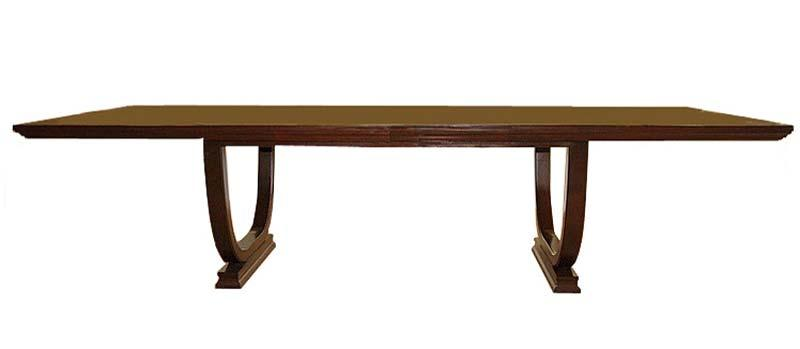 Mahogany table with two leaves from Plush Home