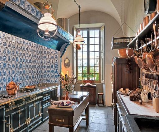 La Cuisine Merveilleuse A Fantastic Kitchen In A French Chateau