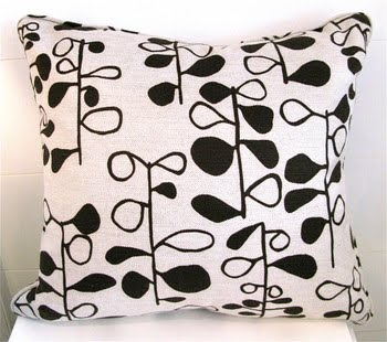 Floral pillow from Pieces Inc