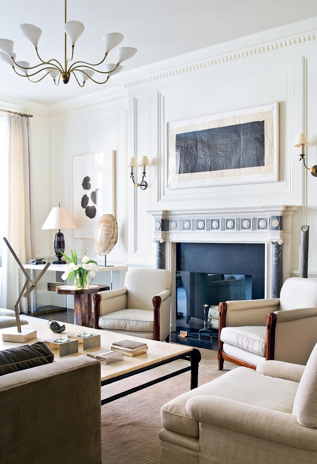 Townhouse Living Room Design: THE HOMES ARCHITECT PETER