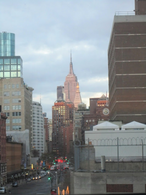 view from a suite at The Bowery Hotel