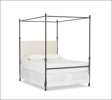 Iron bed frame from Pottery Barn