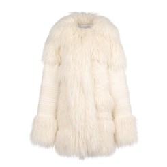 Stella McCartney Ivory Ramona Coat