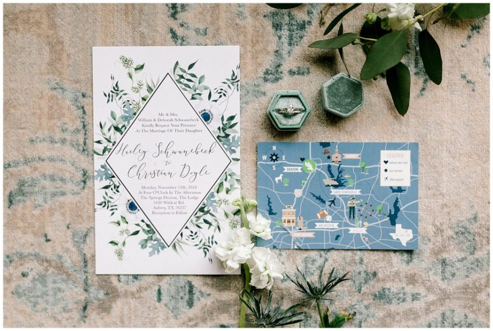 Green & Blue Fall Wedding Inspiration at The Springs