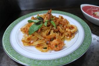 義式椰香風味海鮮番茄醬